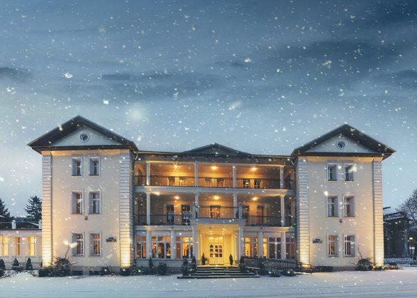 hotel impresja zima